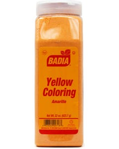 Badia Yellow Coloring- 22 oz (Piece)