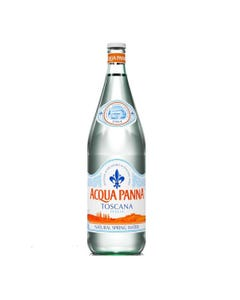 Acqua Panna Still Natural Spring Water, Glass - 1 Ltr