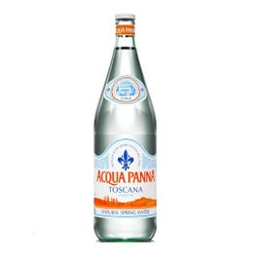 Acqua Panna Still Natural Spring Water, Glass - 1 Ltr