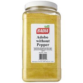 Badia Adobo 8LB W/O Pepper - 8 LB (Piece)