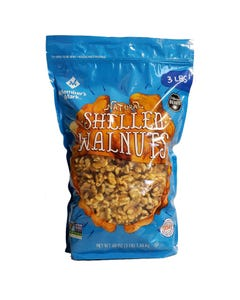 Member's Mark Natural Shelled Walnuts - 3 lbs (Piece)