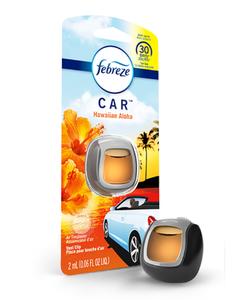 Febreze Car Vent Hawaiian Aloha Air Freshener - 0.06 OZ