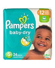 PAMPERS B/DRY JUMBO SZ 5 - 24'S (CASE)