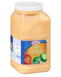 Kraft Honey Mustard Dressing - Gallon (Piece)