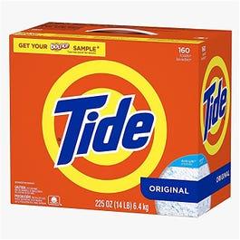 Tide Ultra HE Powder Laundry Detergent, Original 160LD - 225 oz (Piece)