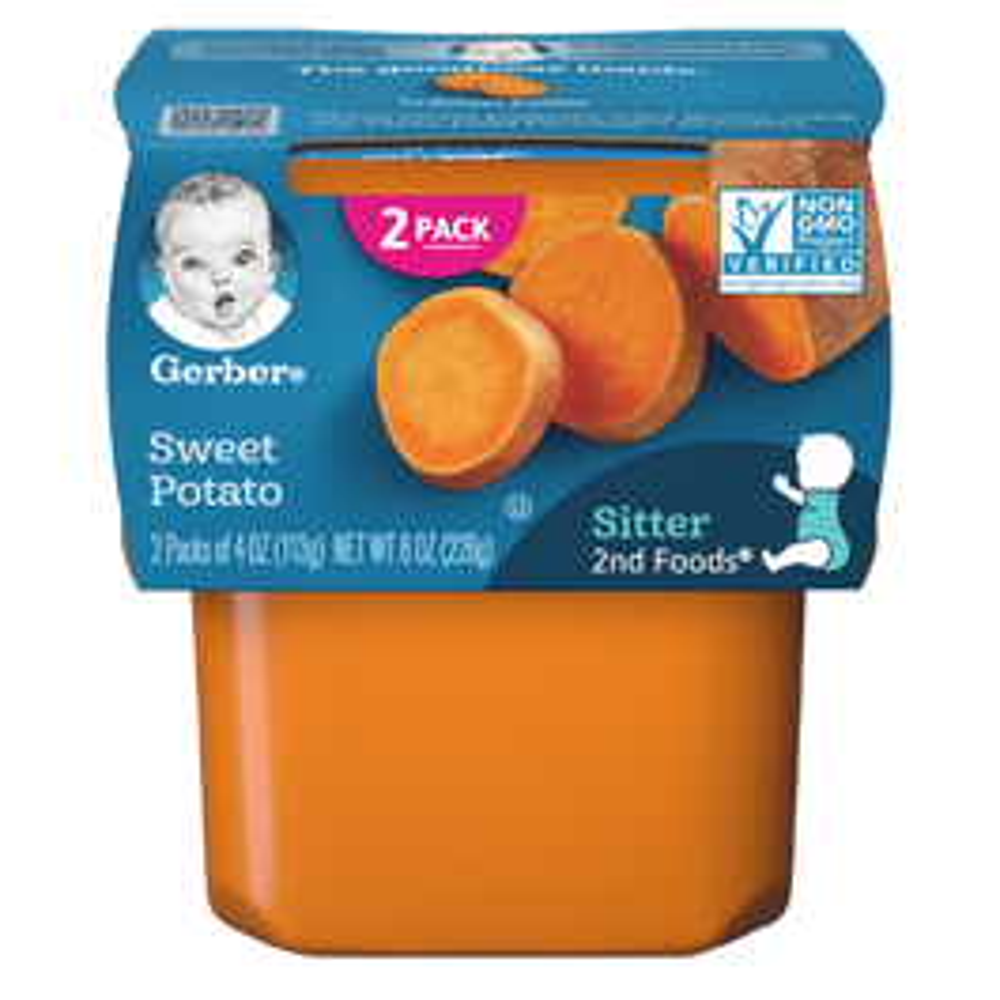 Gerber 2nd Foods Sweet Potato - 4 oz
