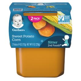 Gerber 2nd Foods Sweet Potato Corn - 4 oz
