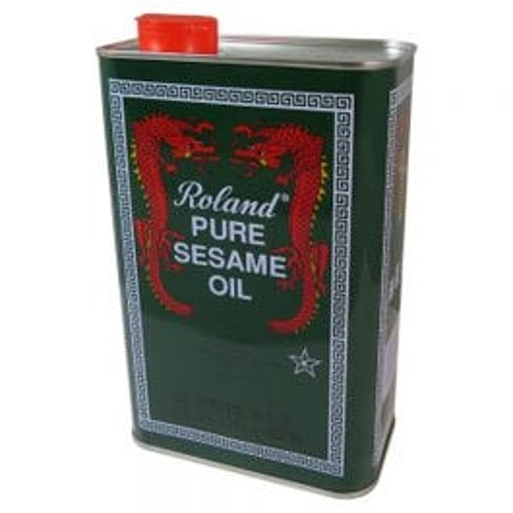 Roland Pure Sesame Oil - 56 fl. oz. Can (CASE)