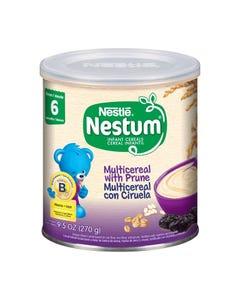 Nestum Probiotics Infant Cereal, Multicereal w/Prunes - 270 Grams (CASE)