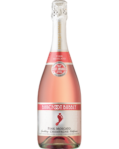 Barefoot Bubbly Pink Moscato Champagne - 750 ml (Piece)
