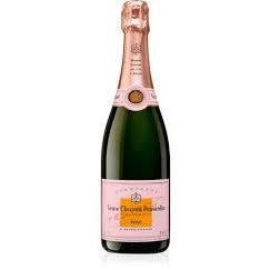 Champagne, Veuve Clicquot Brut Rose (Piece)