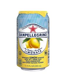 San Pellegrino Sparkling Beverage, Limonata (Lemon) - 330 ML, 24/33cl