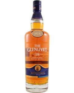 GLENLIVET SINGLE MALT 18YO 6/1 - LTR (Piece)