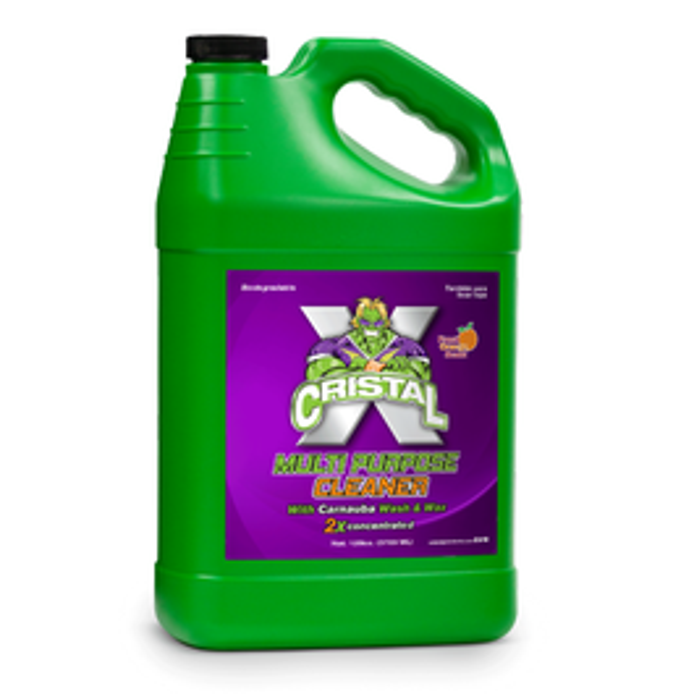 Cristal Multi Purpose Cleaner with Carnauba Wash & Wax - Gallon (Piece)