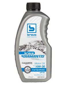 Brava Diamantis Full Synthetic Motor Oil 5Q-30 - 32OZ (Piece)