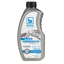 Brava Diamantis Full Synthetic Motor Oil 5W20 - 32OZ (Piece)