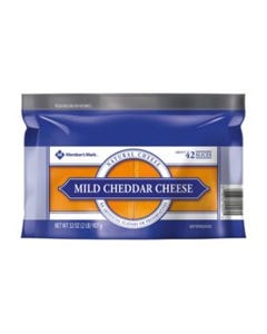Member's Mark Sliced Mild Cheddar Cheese - 2 Lbs (Piece)