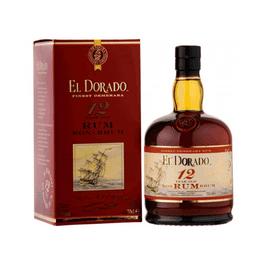 EL DORADO DEMERARA RUM 12 YRS - 750 ML (Piece)
