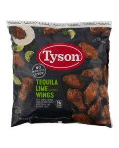 CPF TYSON TEQUILA LIME WINGS ( - 5 LB (Piece)