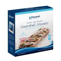 Panamei Seafood New Zealand Green Shell Mussels - 2 Lbs