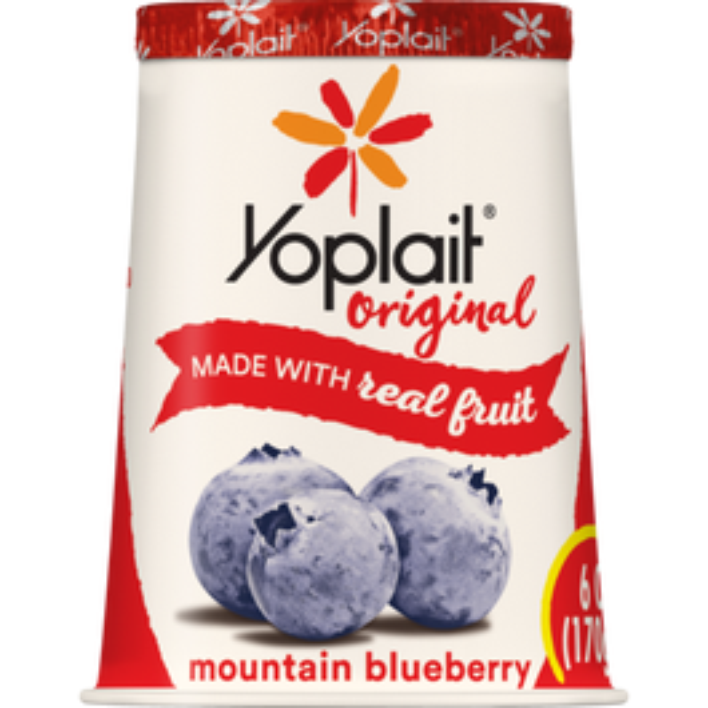 YOPLAIT-ORIGINAL MOUNTAIN BLUE - 6OZ