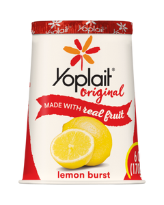 YOPLAIT-ORIGINAL LEMON BRUST - 6OZ