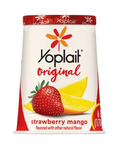 YOPLAIT-ORIGINAL STRAWBERRY MA - 6OZ