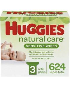 C/P-1 HUGGIES BABY WIPES 624 C - 624 CNT (Piece)