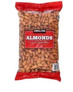 Kirkland Signature Supreme Whole Almonds - 3 lbs (Piece)