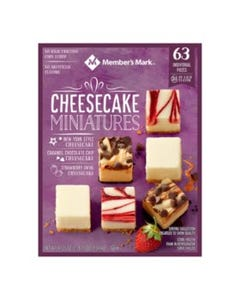 CPF MM CHEESE CAKE MINIATURES - 63 CNT (Piece)