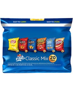 Frito Lays Classic Mix Variety Pack - 27.5 oz (CASE)