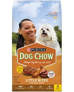 Purina Dog Chow Little Bites for Small Dogs - 4 Lbs (CASE)