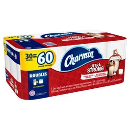 Charmin Ultra Strong Toilet Paper, 30 Double Rolls - 30 DR (Piece)