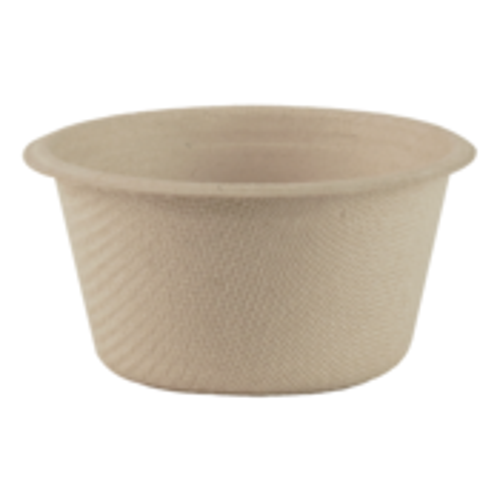 World Centric 2 oz. Fiber Souffle Cup - 50 count (CASE)