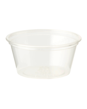World Centric Portion Cup, Clear - 2 OZ, 2000 Count (CASE)