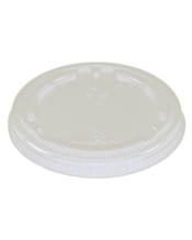 World Centric Clear Flat Lids - 3-9 OZ (Piece)