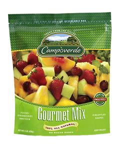 Campoverde Frozen Gourmet Fruit Mix - 5 Lbs (CASE)
