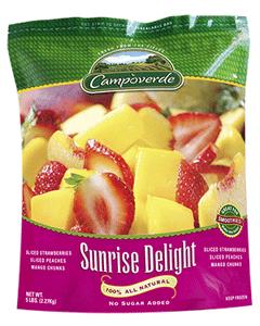 Campoverde Sunrise Delight - 5 Lbs (CASE)