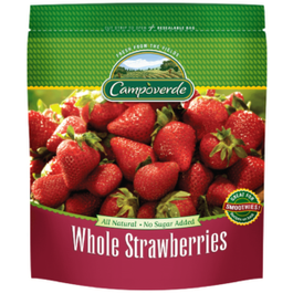 Campoverde Whole Strawberries - 1 Lb (CASE)
