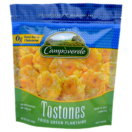 Campoverde Tostones Fried Green Plantain - 2 Lbs (CASE)