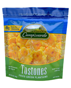 Campoverde Tostones Fried Green Plantain - 12 oz (CASE)
