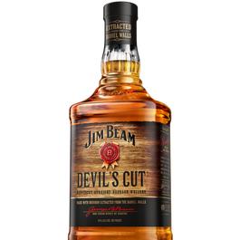 JIM BEAM DEVIL'S CUT WHISKEY 1 - LTR (Piece)