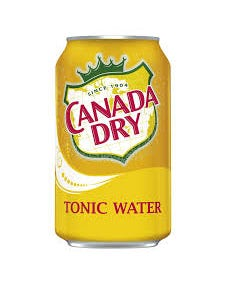 Canada Dry Tonic Water Can  - 12oz