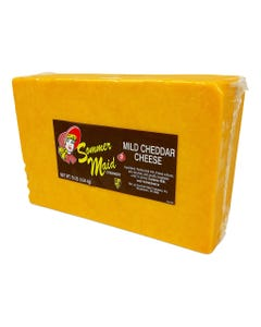 Sommer Maid Mild Cheddar Cheese - 10 Lbs (Piece)