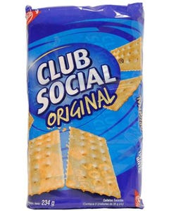 Nabisco Club Social - 234 Grams (CASE)
