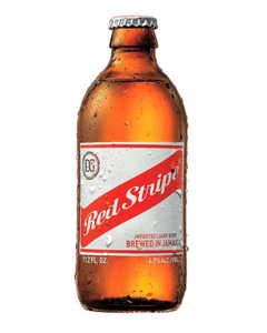 Red Stripe Beer Bottle  - 12oz