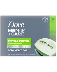 Dove Men+Care Body and Face Bar Extra Fresh - 14/3.75 oz. (Piece)
