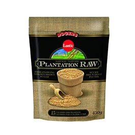 Plantation Raw Brown Sugar - 450 Grams (CASE)