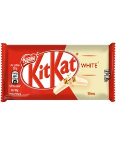 KitKat 4 Finger White Chunky Chocolate - 41.5 Grams (Piece)