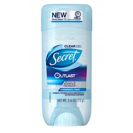 Secret Outlast Clear Gel Deodorant, Completely Clean - 4/2.6 oz. (Piece)